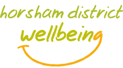 Horsham District Wellbeing Logo