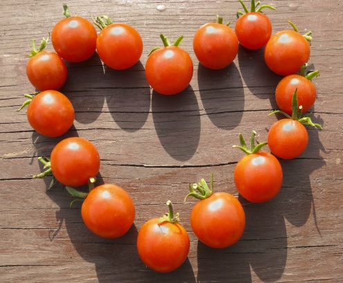 Heart of tomatoes