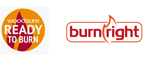 Woodsure and Burnright logos
